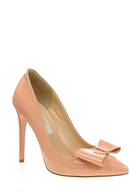 İnci Topuklu Ayakkabı  Pembe